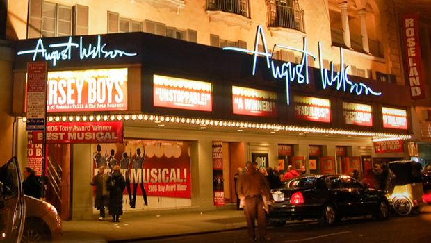 August Wilson Theatre Broadway Seat Map at theatregold.com