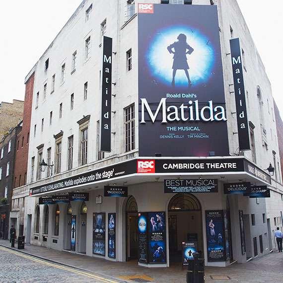 Cambridge Theatre Theatregold