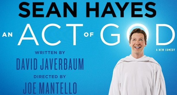 Act of God Sean Hayes at theatregold.com
