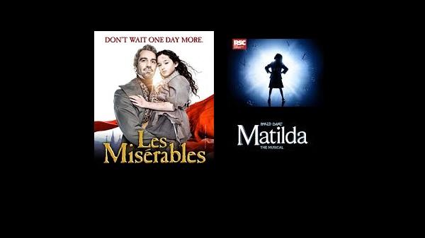 Matilda-Les Miserables-to-close-on Broadway at theatregold.com