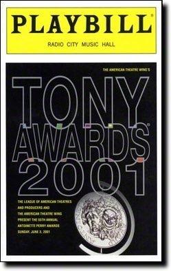 Tony Awards 2001 at theatregold.com