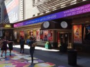 Broadway Posters in Shubert Alley