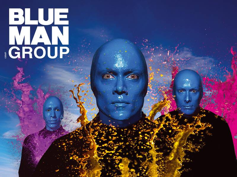 blue man group pentium 3