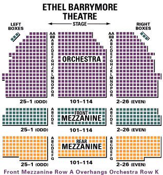 The Ethel Barrymore Theatre Is A Broadway Located At 243 West 47th Street In Midtown Manhattan Named For Actress