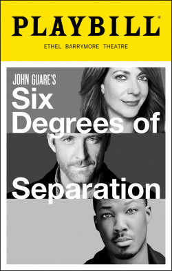 SIx Degrees theatregold-playbill