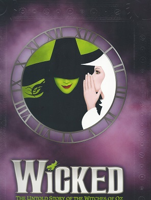 Wicked 10 year Anniversary Purple Cover 2013