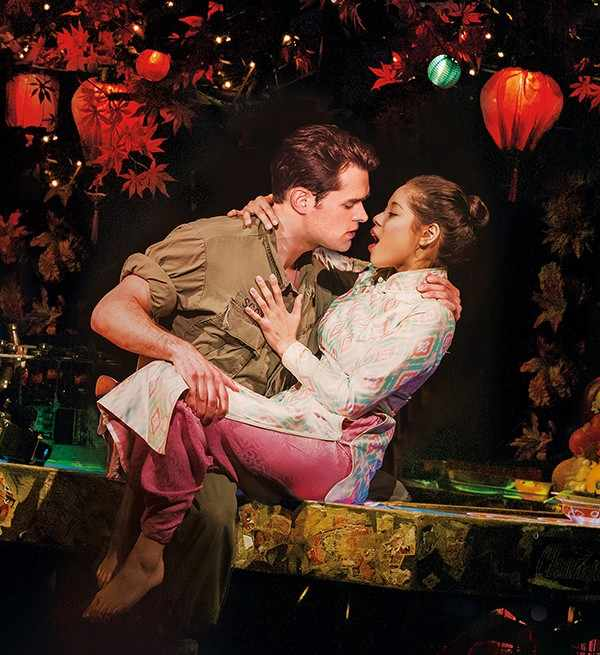 Miss Saigon Opens On Broadway Theatregold